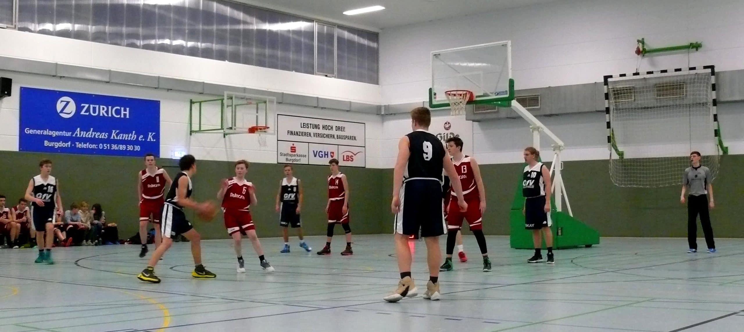 U16 mit der ersten Niederlage!