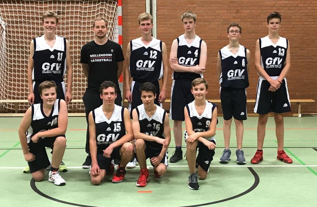 U16 Basketballer verlieren erstes Saisonspiel
